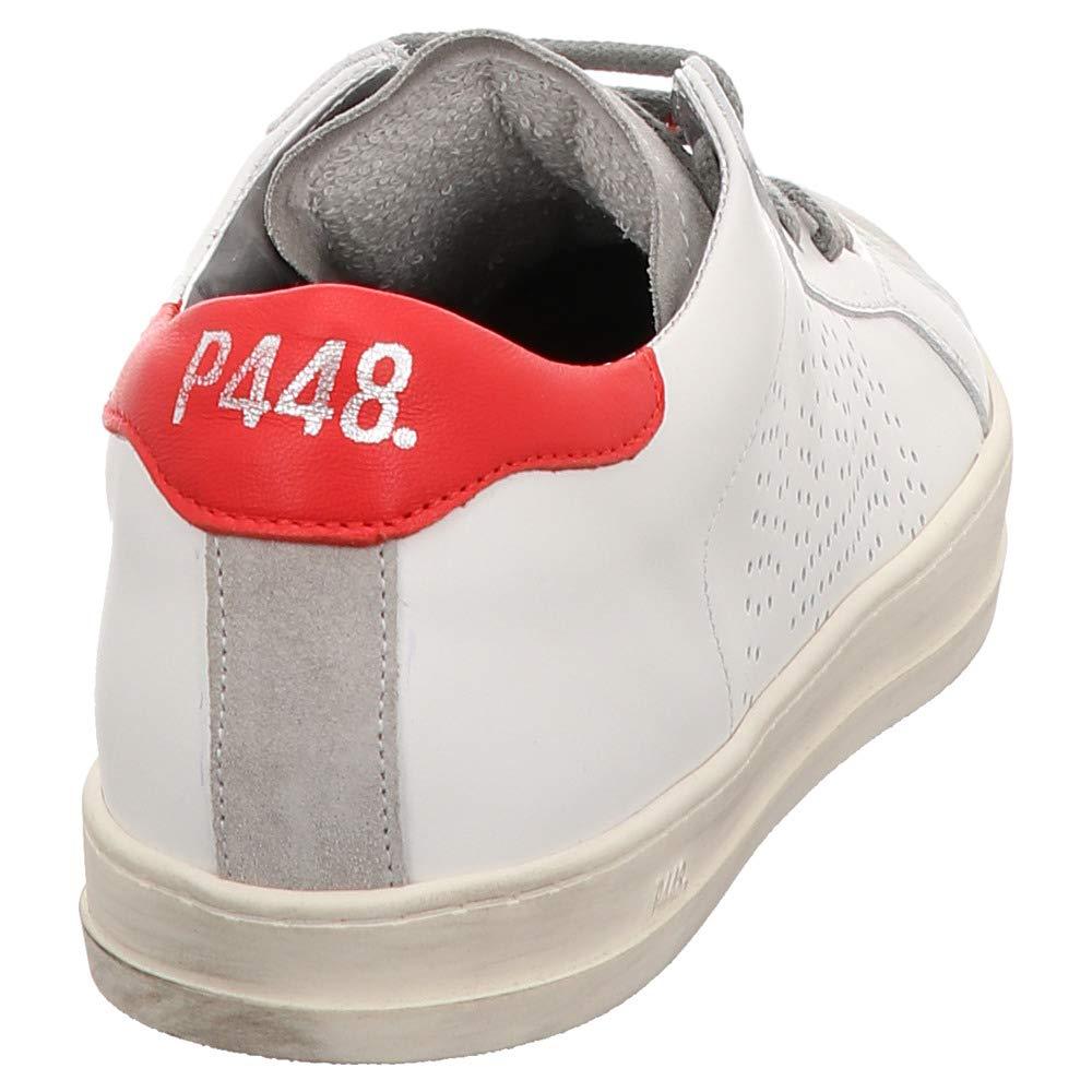 P448 P448 P448   COJOHN1   Turnschuhe - weiß   Weiß rot 2786e3