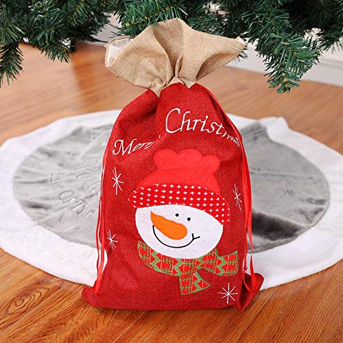 Christmas Stockings Mini Gift Cards Bag Totes Santa Claus Holiday Home Party Decorating for Kids (B) by Paymenow (Image #1)