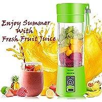 Rechargeable Portable Electric Mini USB Juicer Bottle Blender for Making Juice,Shake,Smoothies,Travel Juicer for Fruits Vegetables,Fruit Juicer for All Fruit,Juice Maker Machine