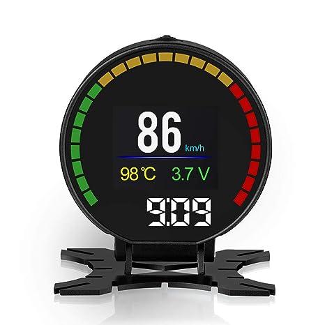 ZHUOYUE HD TFT OBD Digital Velocidad Pantalla velocímetro ...