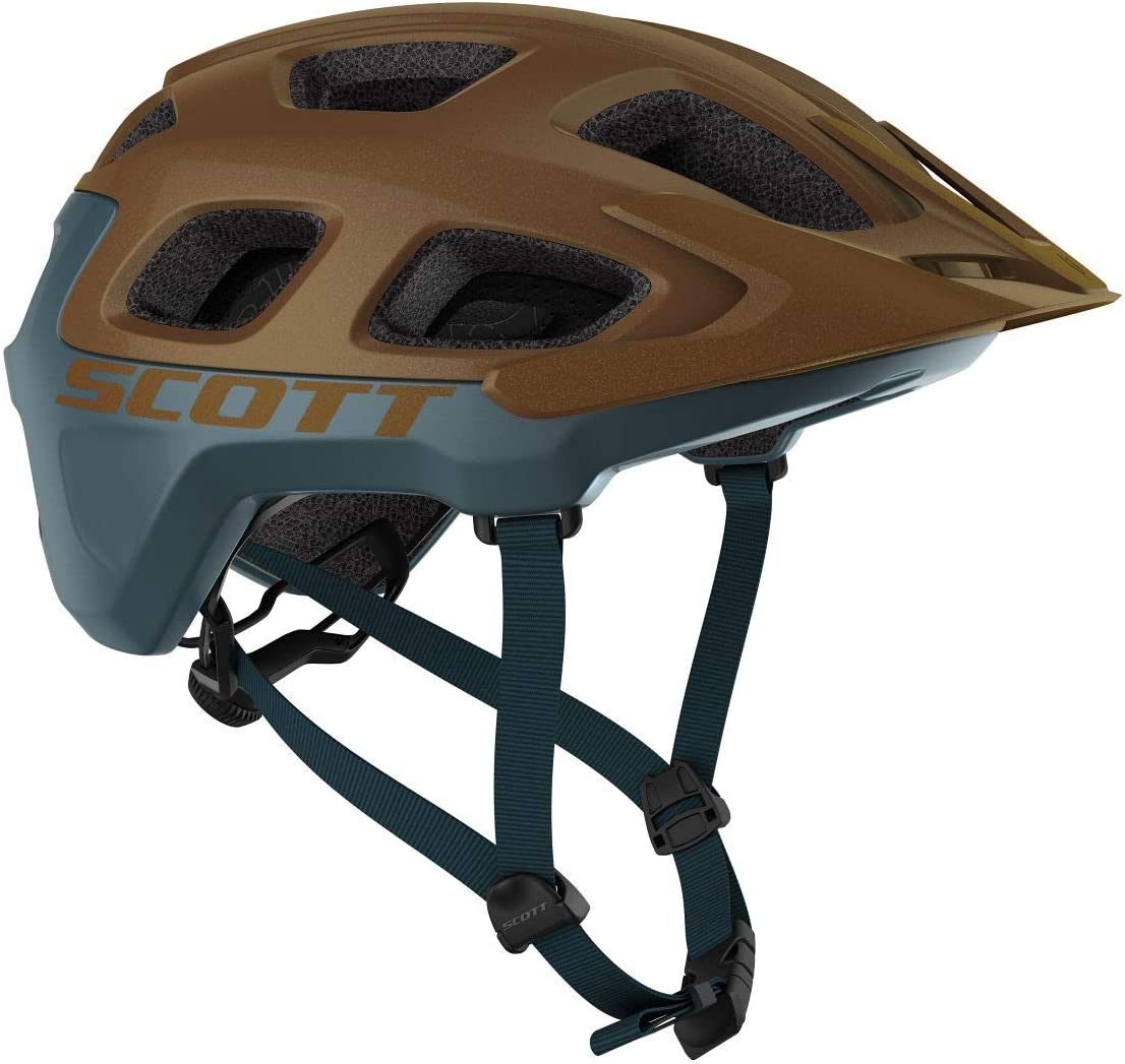 SCOTT Vivo Plus MIPS 2020 - Casco para Bicicleta de montaña, Color marrón y Azul