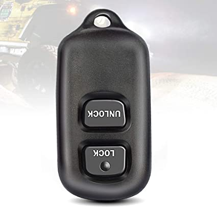 TURBOSII Keyless Entry Remote Control Car Key Fob 2-button Replacement for Toyota Scion Celica