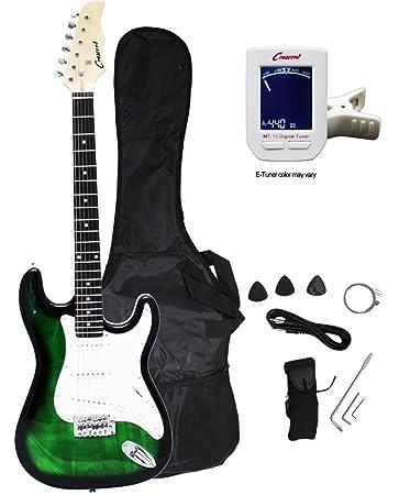 Crescent EG TG 39quot Electric Guitar Starter Package