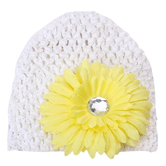 New Baby Girl Kid Crochet Headband Hairband Daisy Flower Any Colors US Hot Sale