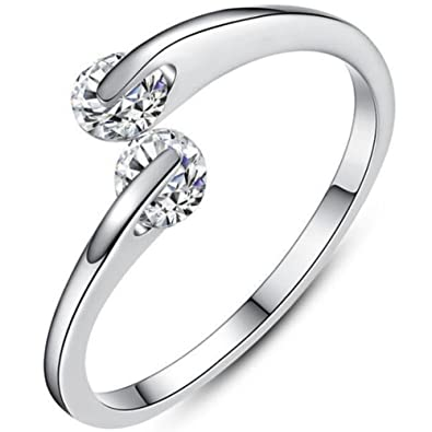 Amazon.com: Jude Jewelers - Anillo de boda de acero ...