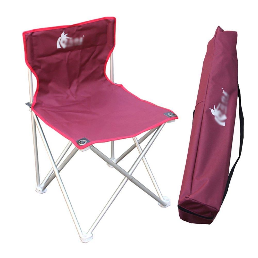 Liegestuhl Freien Faltender Kampierender Stuhl-Aluminiumlegierungs-Leichter Beweglicher Strand-Stuhl-Fischen-Stuhl-Rest-Schemel
