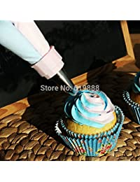 Win 2 Color Cake/Cream Nozzle Pastry Decorating Bag Free Gift A Set of Piping Nozzle Converter Converter Cake Decorating... save