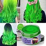 Mofajang Hair Wax Dye Styling Cream Mud, Natural
