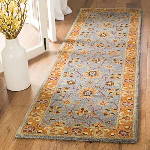 Safavieh Heritage Blue Rug (Safavieh Heritage Collection HG401A Blue and Orange Runner (2'3