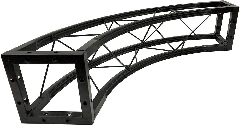 Cedarslink 58 4.8 ft Circle Truss Black Square Trussing 4 x 90 degree arcs