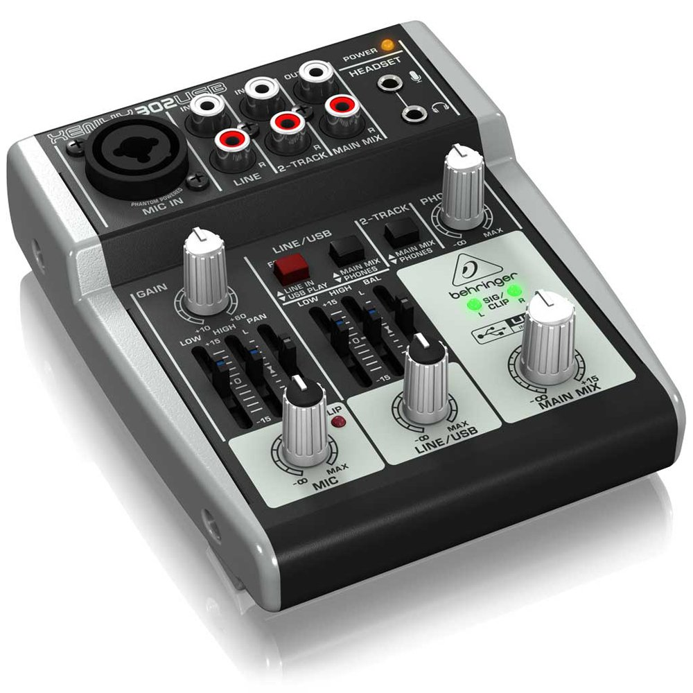 mini audio analog mixer usb audio interface compact mic line 5 input mixing cons 691161302920 ebay. Black Bedroom Furniture Sets. Home Design Ideas
