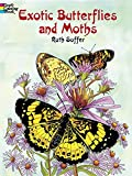 img - for Exotic Butterflies and Moths (Dover Nature Coloring Book) book / textbook / text book