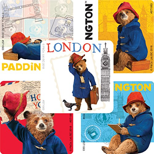 Smile Makers Paddington Bear Stickers - Prizes and Giveaways - 100 Per Pack