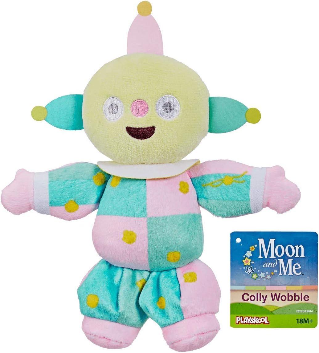 NEUF Playskool Cbeebies Moon Me Colly Wobble Jouet Doux