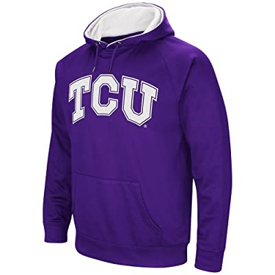 Mens TCU Horned Frogs Fleece Pull-over Hoodie