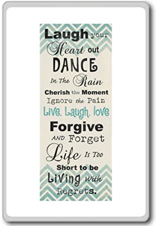 Amazoncom Laugh Your Heart Out Dance In The Rain Cherish The