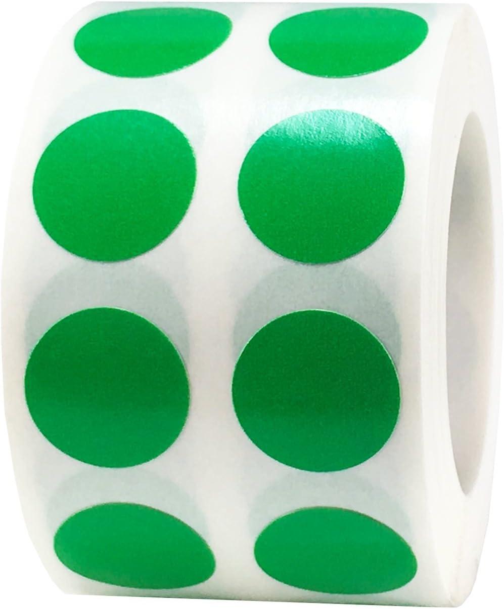 13 mm 1//2 Zoll Gl/änzende Punktetiketten 1000 Packung Metallisch-Violette Kreis-Aufkleber