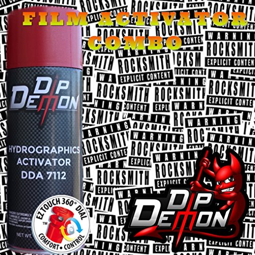 Combo Kit Explicit Hydrographic Water Transfer Film Activator Combo Kit Hydro Dipping Dip Demon