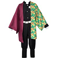 Demon Slayer Tomioka Giyuu Anime Cosplay Kostuum Japanse Kimono Outfit Halloween Party