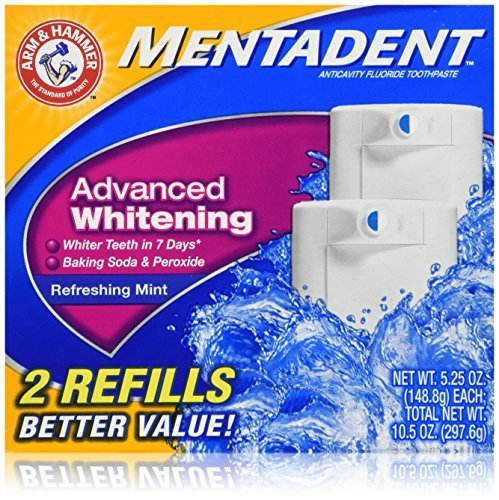 Mentadent Toothpaste Advanced Whitening Packages