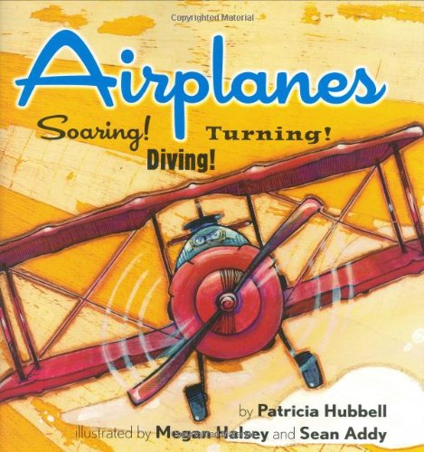 Airplanes: Soaring! Diving! Turning! by Amazon Childrens Publishing