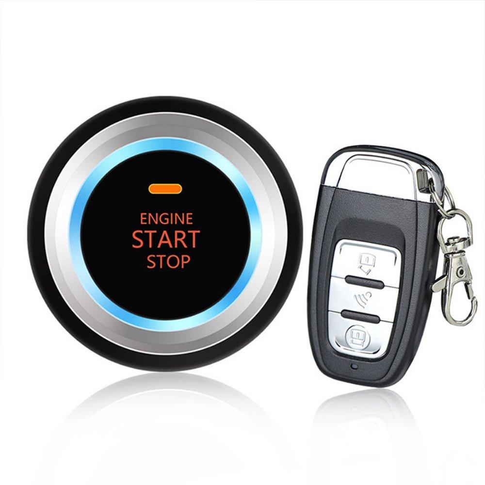 Adoner Car Auto SUV Alarm System Security Keyless Entry Push Button Remote Engine Start
