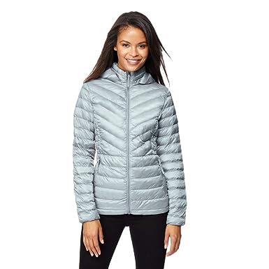 df8025dd6fb Amazon.com  Womens Ultra Light Chevron Down Packable Jacket  Clothing