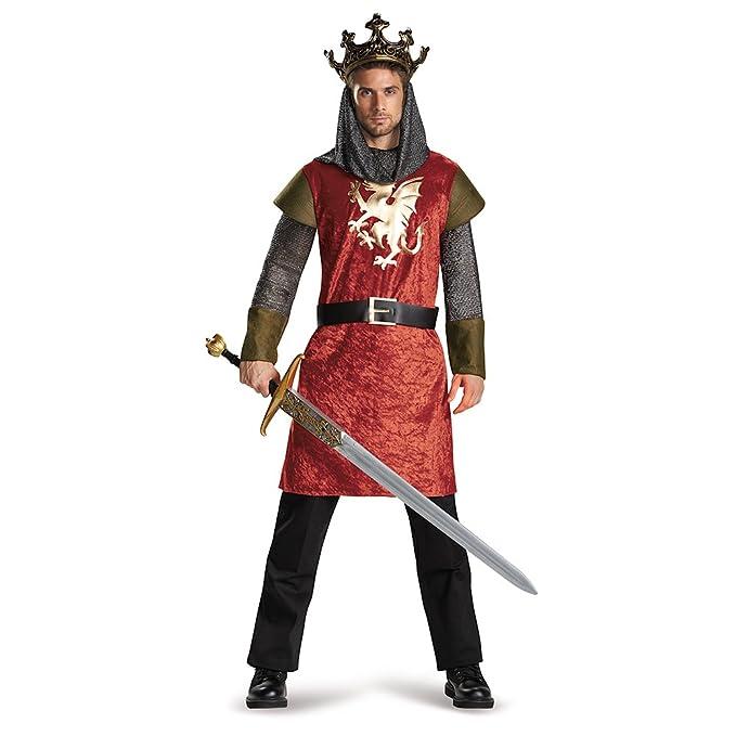 Amazon.com: Disfraz de los hombres King clásico para adulto ...