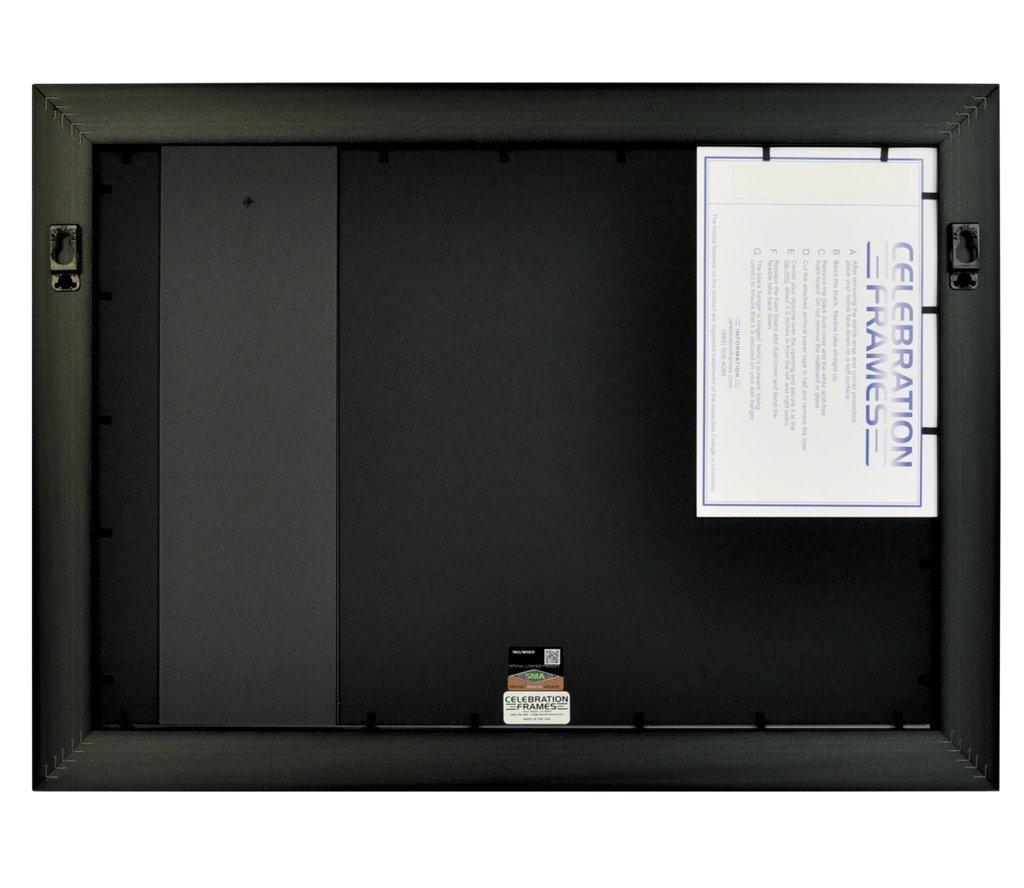 Celebration Frames Dartmouth College 12 x 16 Mahogany Finish Infinity Diploma Frame with Tassel Box