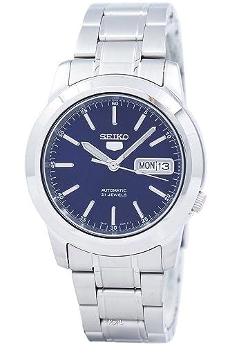 2ae83eabd495 Reloj Seiko 5 Gent SNKE51K1 - Analógico Automático para Hombre en Acero  inoxidable  Amazon.es  Relojes