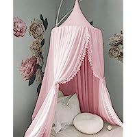 Ropa de cama de bebé Cúpula Redonda Canopy