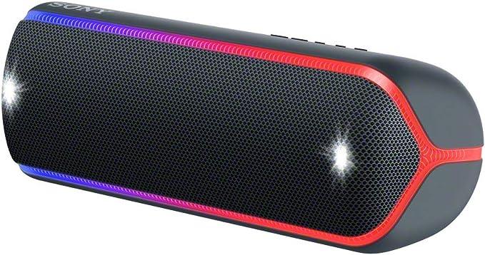 Sony SRS-XB31 Bluetooth Lautsprecher Freisprechfunktion Wasserfest NFC Grün