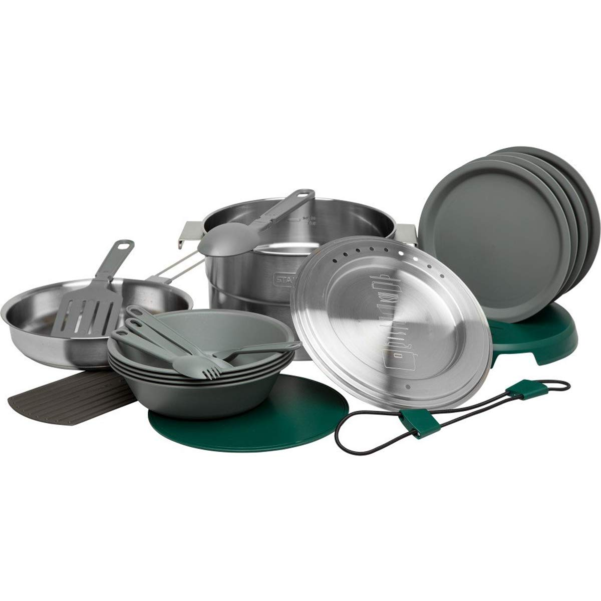 Stanley Base Camp Cook Set for Four - 21 Piece by Stanley