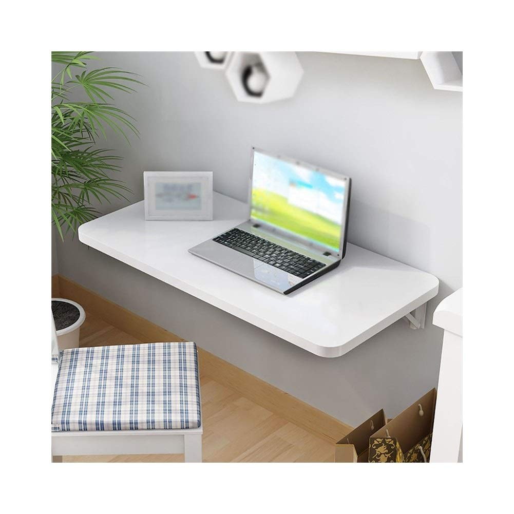 Workspace Organizer Simple Wall Table, Folding Table, Dining Table, Wall-Mounted Computer Desk, Desk, (Color : A, Size : 9040cm)
