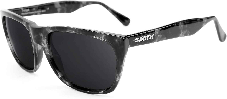 Revant Verres de Rechange pour Smith Tioga - Compatibles avec les Lunettes de Soleil Smith Tioga Noir Furtif - Polarisés