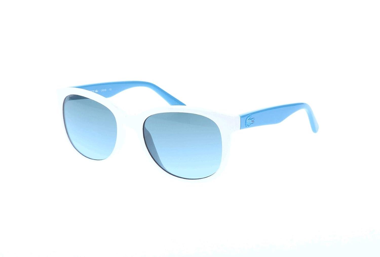 001778d2b495 Amazon.com  Lacoste Eyewear Square Kids Sunglasses (White)  Sports    Outdoors