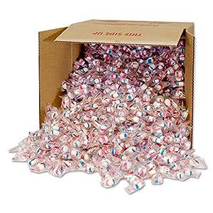 Red Bird Cotton Candy Puffs 20 lb bulk Clear Wrap