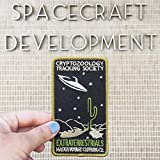 EXTRATERRESTRIALS Patch - Cryptozoology Tracking Society UFO Aliens Desert Cactus Celestial