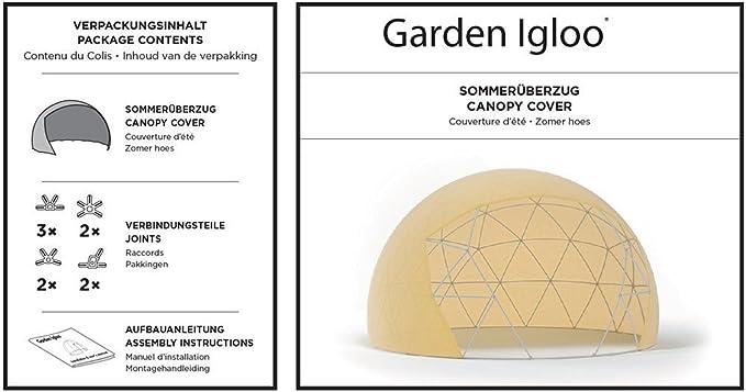 Garden-Igloo - Funda de protección solar para pabellón ...