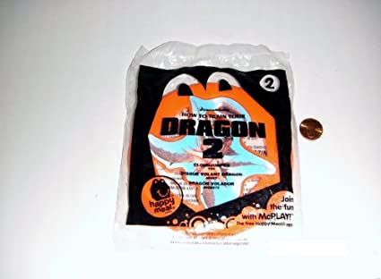 Amazon Com 2014 Mcdonald S How To Train Your Dragon 2 Happy Meal Toy 2 Cloudjumper Mint New Sealed Toys Games