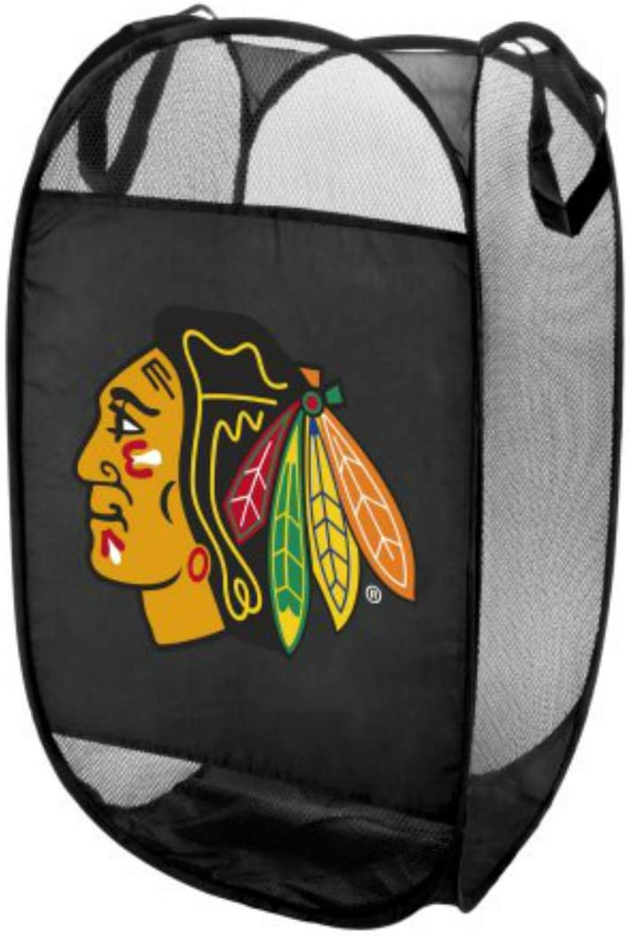 Chicago Blackhawks Team Logo Laundry Hamper