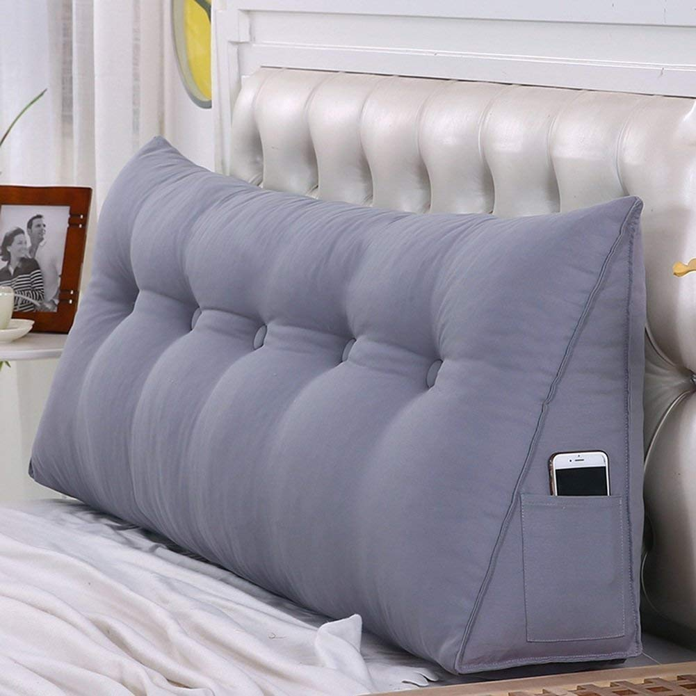 最も  ヘッドボードベッドサイドクッションパッドカバートライアングルベッドウェッジ背もたれ腰パッド寝室洗える4色、8サイズ (色 ぶらうん, : ブラウン ぶらうん, サイズ さいず サイズ 150x50x20cm : 120x50x20cm) B07R5HTHFV 150x50x20cm|グレイ ぐれい グレイ ぐれい 150x50x20cm, バナナ ビーチ:b6e2192e --- jeffyradesign.com.br