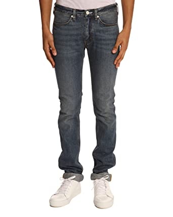 ACNE STUDIOS - Slim Jeans - Men - Max Slim Vintage Faded Blue Jeans for men 57e06b6b11b