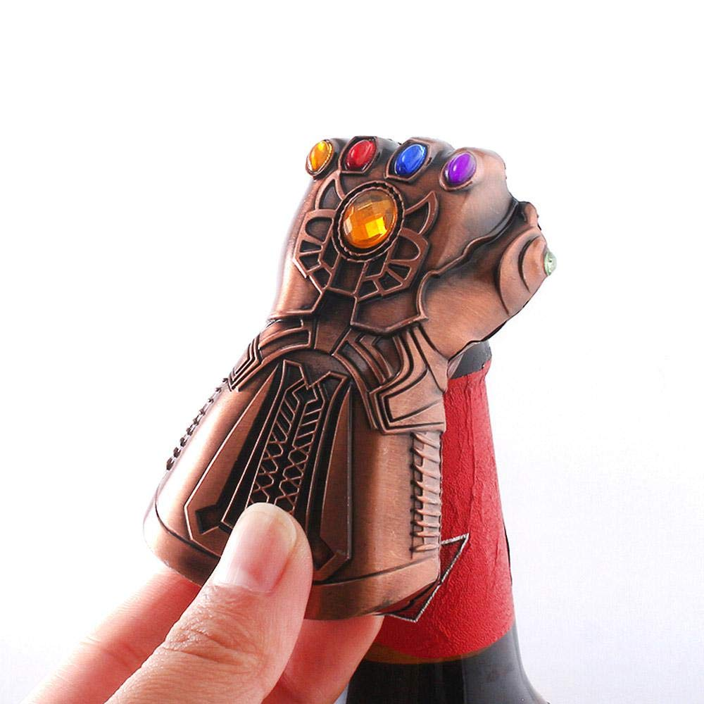 2019 Newest Thanos Glove Bottle Opener Beer Bottle Opener Best Gift For All Marvel Fans Marvel The Avengers 4: Endgame Bottle Cap Opener