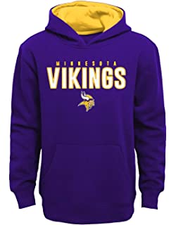 Outerstuff Minnesota Vikings Youth NFL Extra Point Pullover Hooded  Sweatshirt 36b67fad0