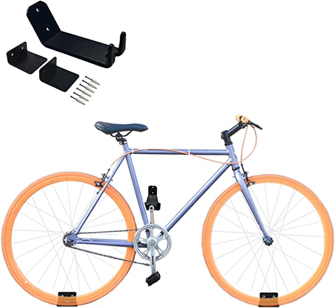 1PC Bike Bicycle Pedal Wall Mount Storage Hanger Stand Rack Skateboard Guitar