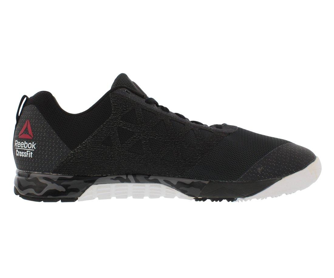 Reebok Men's Crossfit Nano 6.0 Cross-Trainer Shoe, Gravel/Black/White/Pewter, 7 M US