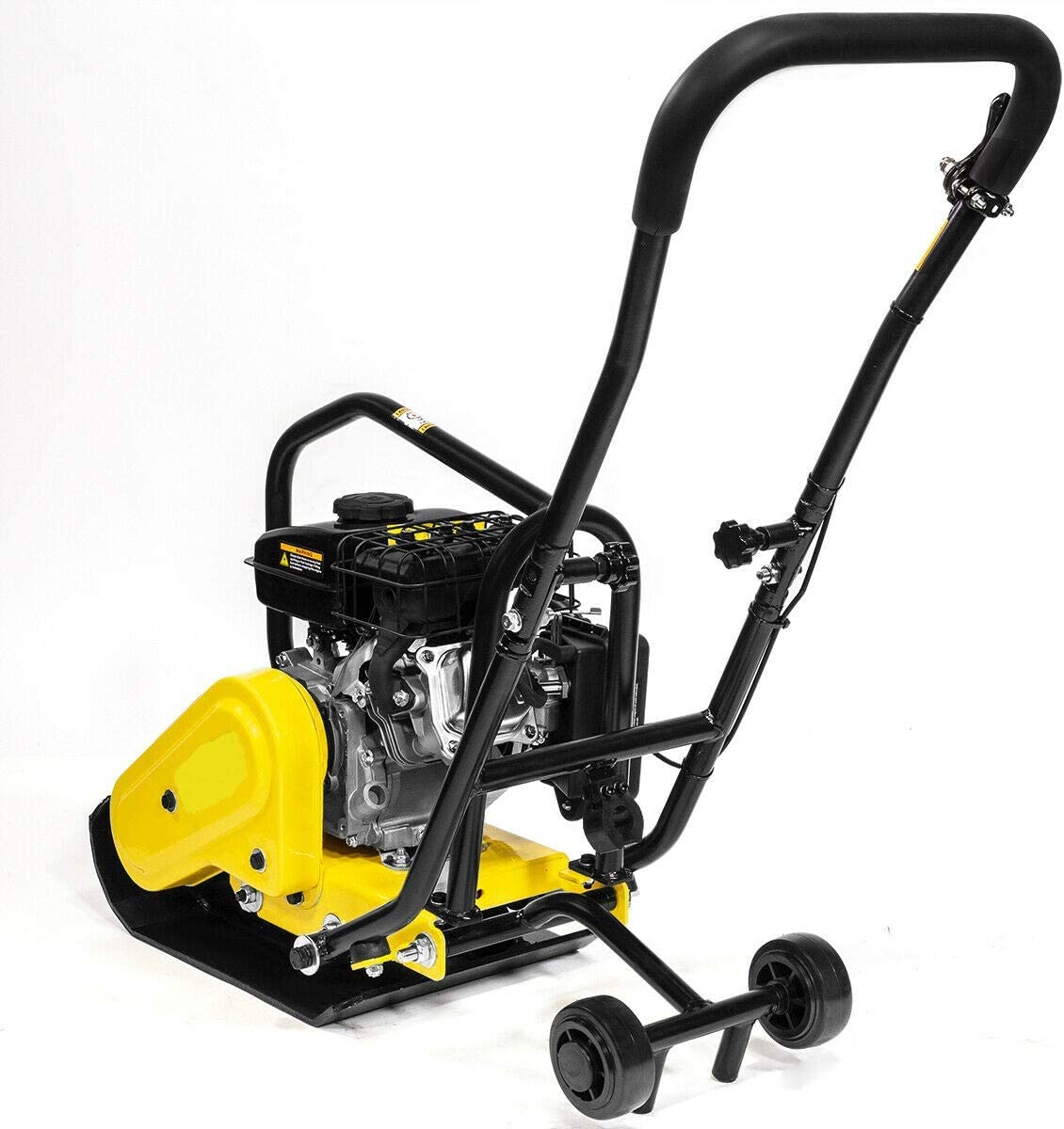 9TRADING 79cc Walk Behind Vibratory Compactor Plate Rammer Gas Power 2 HP Soil Dirt