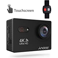 Andoer 4K 2160p WiFi Touchscreen Action Camera (Black)