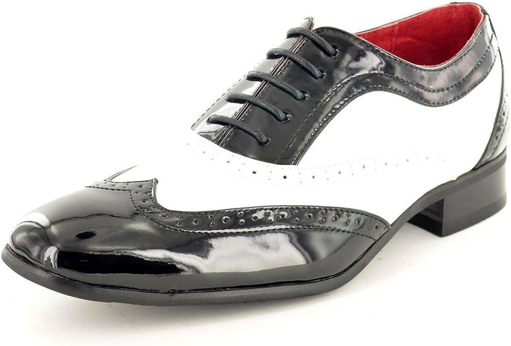 My Pair - Zapatos de Cordones para Hombre Negro Negro